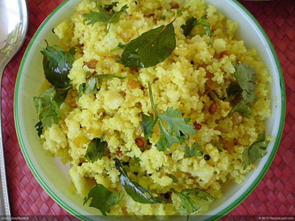 Upma Hot Oven Sinhala Recipe