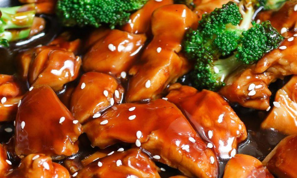teriyaki chicken hot oven Sinhala Food Recipe