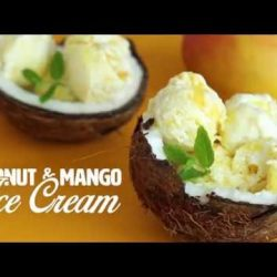 Coconut Milk Ice Cream Hot oven Sinhala Recipe