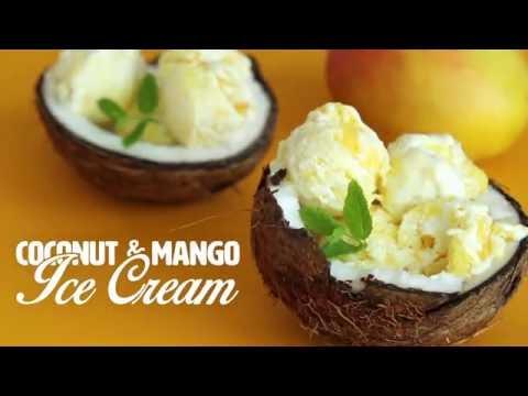Coconut Milk Ice Cream Hot oven Sinhala Recipe