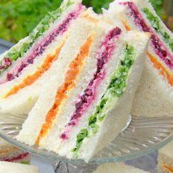 rainbow sandwich hot oven sinhala recipe