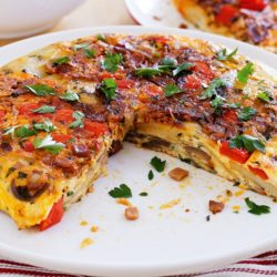 spanish egg tortilla hot oven sinhala food recipe